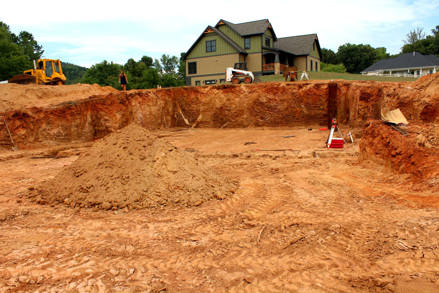Land grading and land clearing services for Soil grading